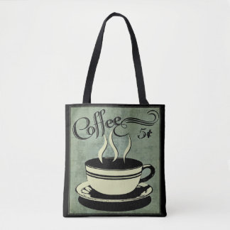 Five Cent Cup of Coffee Tote Bag