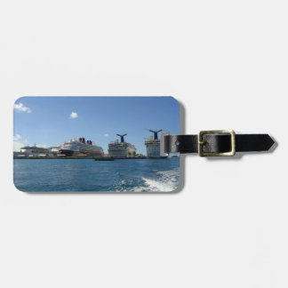 Five Cruise Ships Custom Luggage Tag