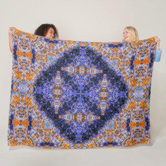 Five Deity Mandala Plush Pattern Quilt Fleece Blanket