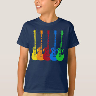 Five Electric Guitars T-Shirt