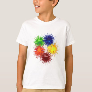 Five fractal Paintballs T-Shirt