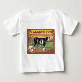 Five Legged Cow Baby T-Shirt