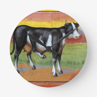 Five Legged Cow Wall Clock