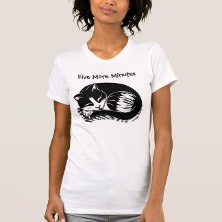 Five More Minutes Tuxedo Cat Women's T-Shirt