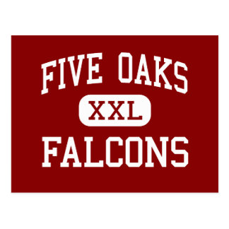 Five Oaks - Falcons - Middle - Beaverton Oregon Postcard