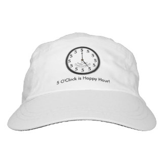 FIVE O'CLOCK CLOCK HEADSWEATS HAT