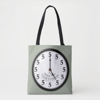 FIVE O'CLOCK CLOCK TOTE BAG