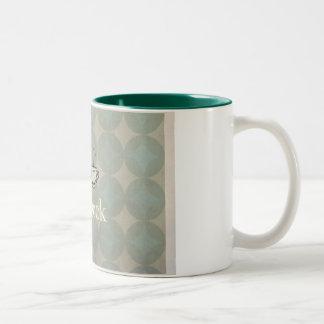 five o'clock Two-Tone coffee mug