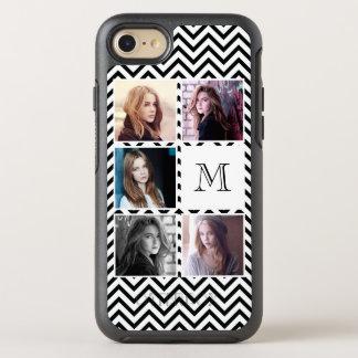 Five Photos Instagram Style Grid Chevron OtterBox Symmetry iPhone 7 Case