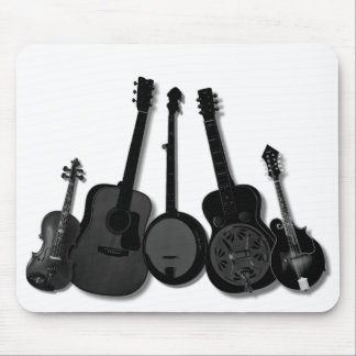FIVE PIECE BAND ON WHITE-MOUSEPAD MOUSE PAD