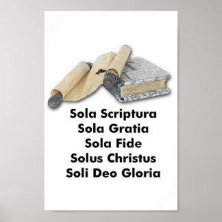 Five Solas Poster