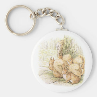 Five Squirrels Keychain