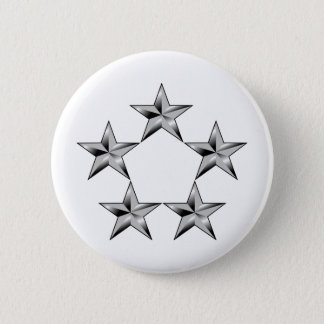 Five-star-general 2 Inch Round Button