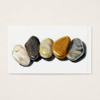 FIVE STONES: PEBBLES: BUSINESS CARD