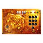 Five to 12 Steampunk Uhr Grunge Personalisierte Flyer