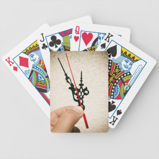 Five to twelve bicycle playing cards