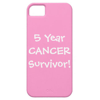 Five Year Cancer Survivor iPhone 5 Covers