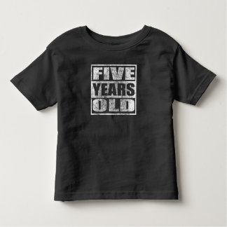 Five Years Old - Happy 5th Birthday T Shirt