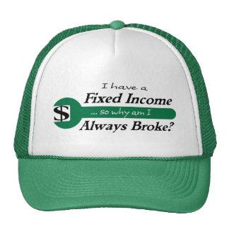Fixed Income/Always Broke Cap - Green Trucker Hat