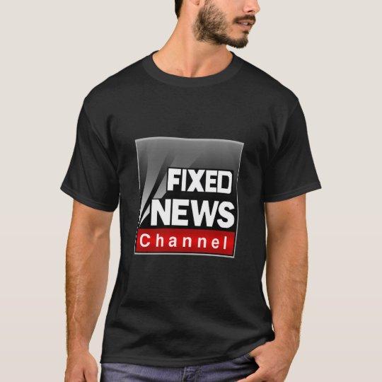 Fixed News T-Shirt (Black)