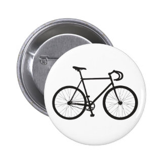 Fixie (Black) 2 Inch Round Button