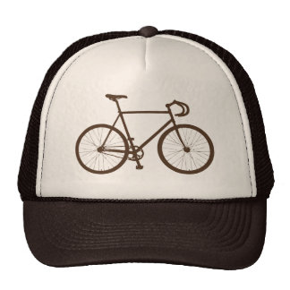 Fixie (Brown) Trucker Hat