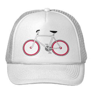 """Fixie"" Cyclist's Cap Trucker Hat"