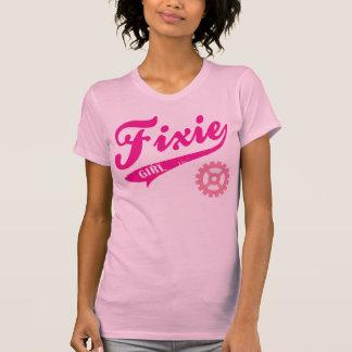 Fixie Girl, Bike design pink T-shirts
