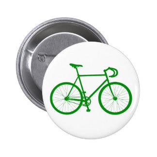 Fixie (Green) 2 Inch Round Button