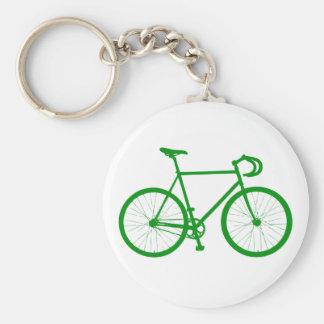 Fixie (Green) Basic Round Button Keychain