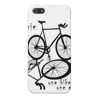 Fixie - one bike one gear iPhone Case iPhone 5 Cases