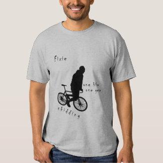 Fixie - one bike one Gear Skid T-Shirt
