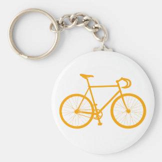 Fixie (Orange) Basic Round Button Keychain