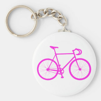 Fixie (Pink) Key Chain