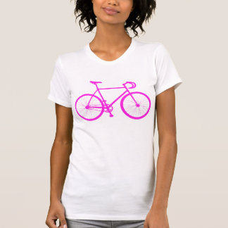 Fixie (Pink) T Shirts