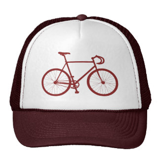 Fixie (Red) Trucker Hats