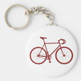 Fixie (Red) Key Chain