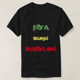 Fiya Burn Babylon T-shirt