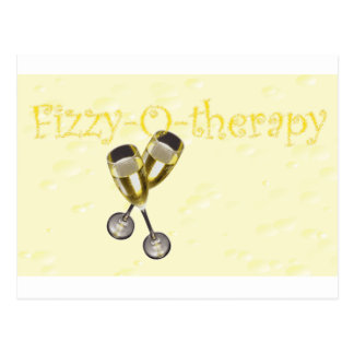 Fizzy-o-therapy Bubbles Postcard