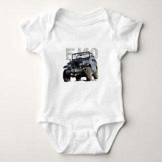 FJ40 Landcruiser Apparel Baby Bodysuit