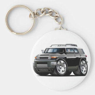 Fj Cruiser Black Car Keychain