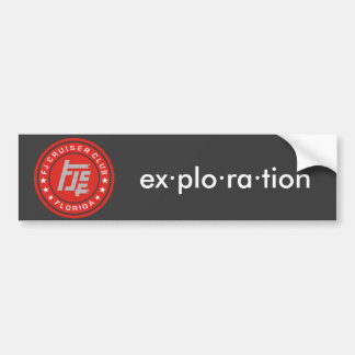 FJ Cruiser Club - Customizable Decal Bumper Sticker