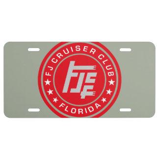FJ Cruiser Club - license plate