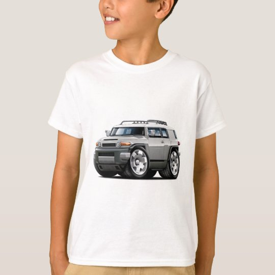 Fj Cruiser Silver Car T-Shirt