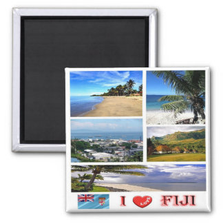FJ - Fiji - I Love Magnet