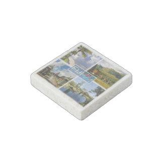 FJ Oceania - Fiji - Denarau Island - Nava - Stone Magnets