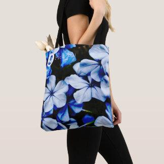 FʟᴏᴡPᴏᴡ   Plumbago ~ Blue Jay Tote Bag