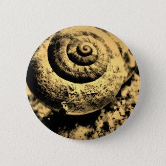 FʟᴏᴡPᴏᴡ   Snail ~ Phoebe 2 Inch Round Button