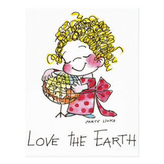 FL-003 Love Earth Postcard