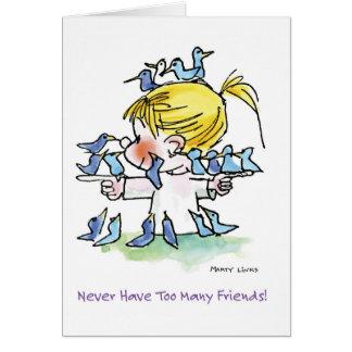FL-005 Birdy Love Card